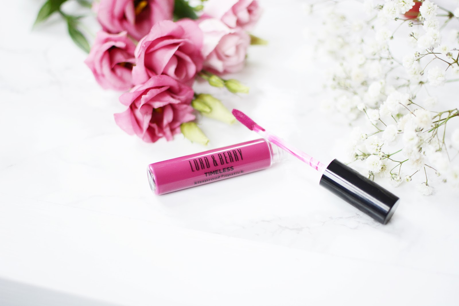 Lord & Berry Timeless Kissproof Lipstick POP PINK