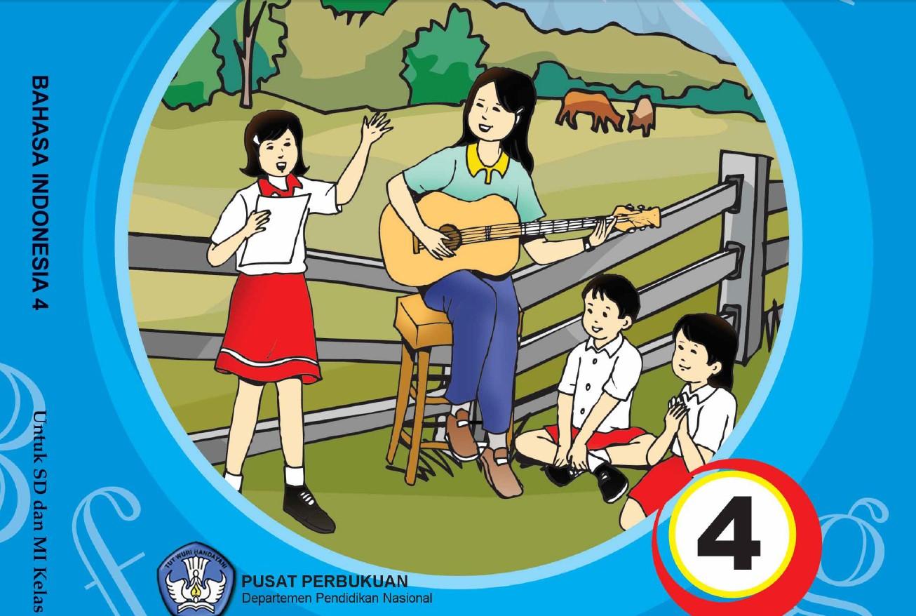 Download Buku Sekolah Elektronik (BSE) Untuk Sekolah Dasar Kelas IV (Empat) Semua Mata Pelajaran