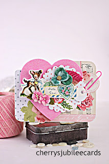 Dear Valentine by Cherry's Jubilee Cards