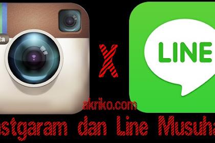 Solusi Jika Link Line tidak bisa dipasang pada Instagram