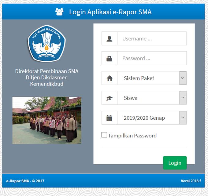 Panduan Menggunakan E-Rapor Khusus Peserta Didik