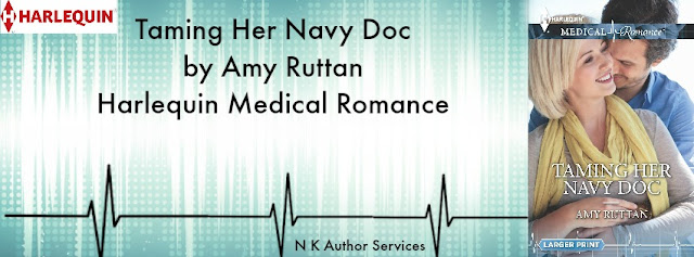 Taming her navy doc by Amy Ruttan