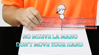 No muevas tu mano, IDEOMOTOR MOVEMENT, Don't move your hand