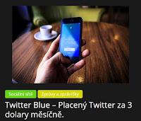 Twitter Blue – Placený Twitter za 3 dolary měsíčně. - AzaNoviny