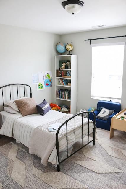 A FUN boy's room makeover
