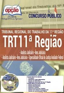 Apostila TRT11 AM/RR 2017