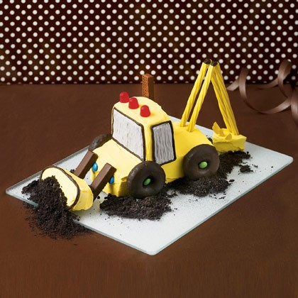 Edible Excavator Cake Recipe