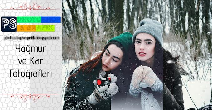 Kar ve Yağmur Fotoğrafları Png