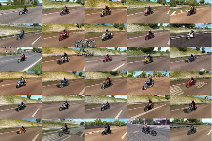 Motorcycle Traffic Pack by Jazzycat v2.7