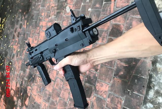 súng đạn thạch bắn liên thanh mp7