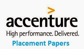 Accenture Placement Paper for Freshers - Technical Questions