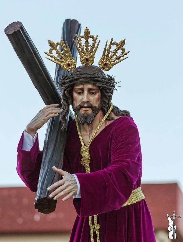 Horario e itinerario Via Crucis de Nuestro Padre Jesús de la Paz de Cuartillos hoy en Jerez de la frontera