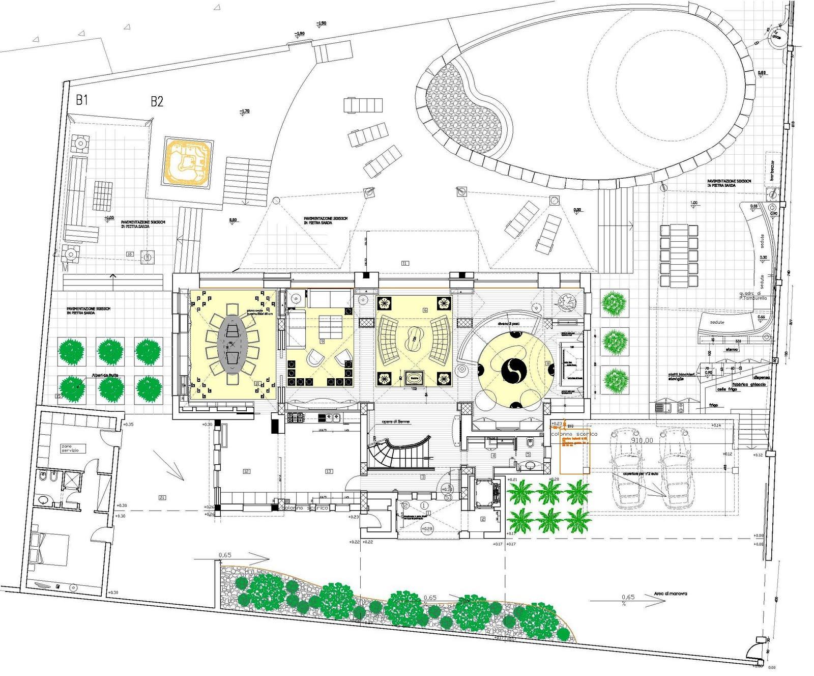 Architetto giusto puri purini work in progress for Ville architetti famosi