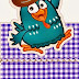 Lottie Dottie Chicken: Free Printable Original Nuggets or Gum Wrappers.