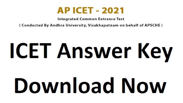 AP ICET 2021 Answer Key