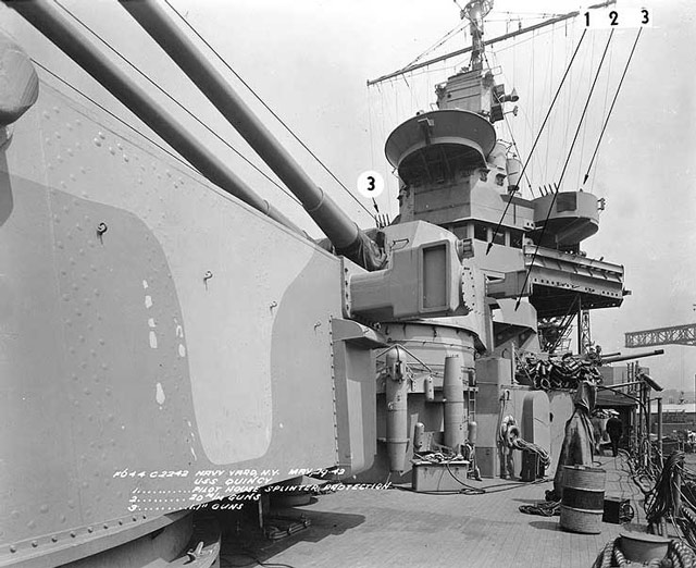 USS Quincy in NYC, 29 May 1942 worldwartwo.filminspector.com