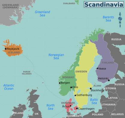 phong cách Scandivian
