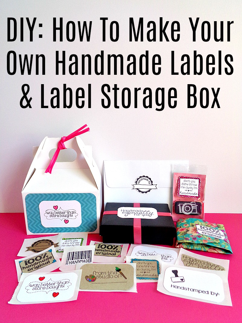 Running with a glue gun diy how to make your own for How to print your own labels