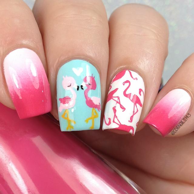 CDBNails-Flamingo Nails