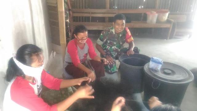 Babinsa Pringanom Jalin Keakraban Bersama Warga Binaan