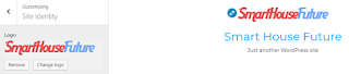logo wordpress customization
