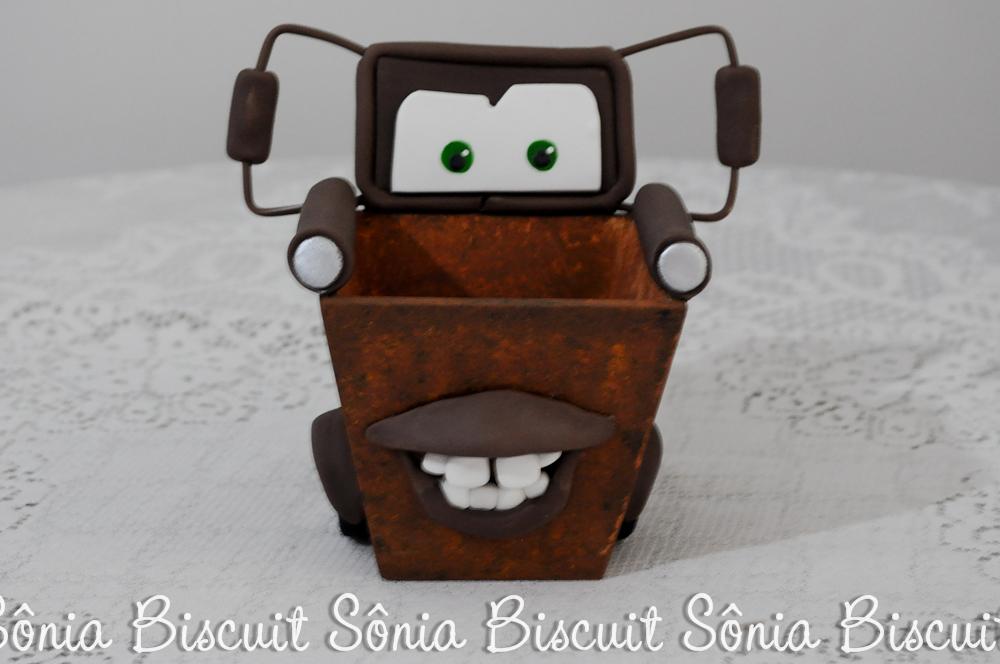 Lembrancinha Carros Mate Biscuit
