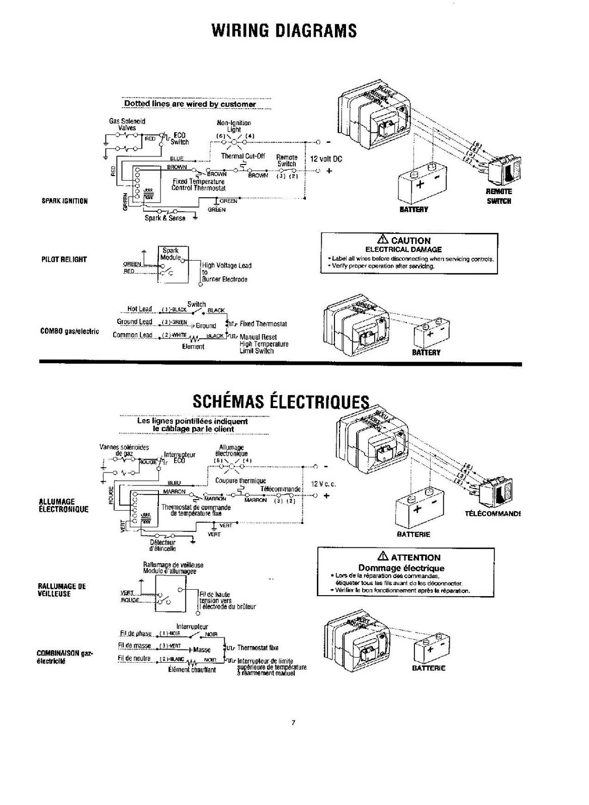 Atwood Gas Water Heater Wiring Diagram For 89 Chevy Truck 1983 Fleetwood Pace Arrow Owners Manuals L P