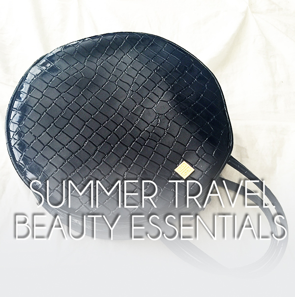 summer travel beauty essentials, what in my bag