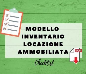 modello inventario casa