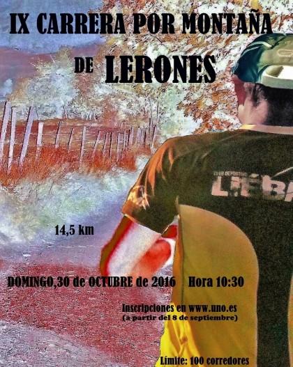 IX Carrera por Monta�a de Lerones