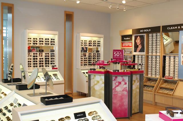 Comprar óculos Ray Ban na Sunglass Hut na Califórnia