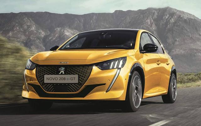 Novo Peugeot 208 terá motores 1.6 Flex e elétrico - Brasil