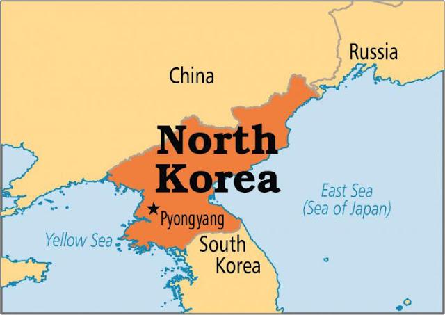 Северная Корея - её природа, население и площадь