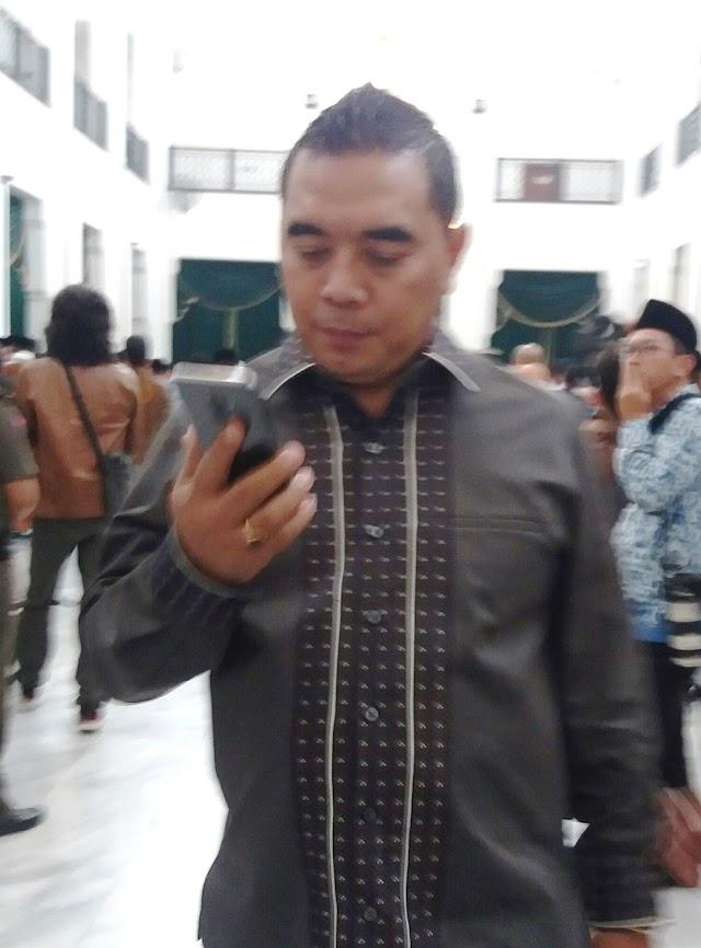 Syahrir Minta Pj Bupati Bandung Barat Jalankan Roda Pemerintahan Sesuai Aturan