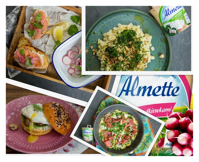 almette, dania z almette, gotowanie z davidem gaboriaut, wiosenne przepisy, david gaboriaud, jak wykorzystac serki almette, zycie od kuchni