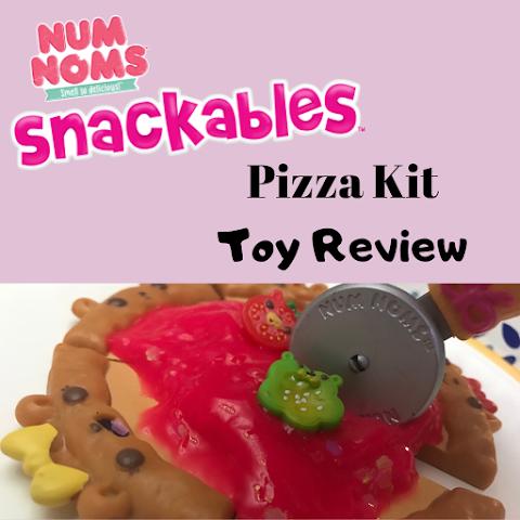 Num Noms Snackables Pizza Kit Toy Review