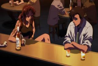 Revy w barze razem z Rokurou