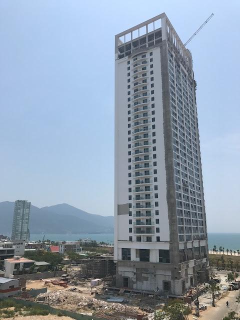Tiến độ dự án Alphanam Luxury Đà Nẵng