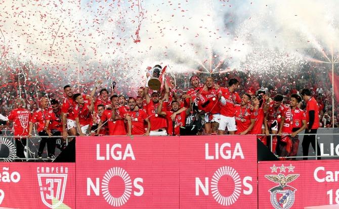 Blogs Benfica Campeão Nacional de Futebol 2018/19