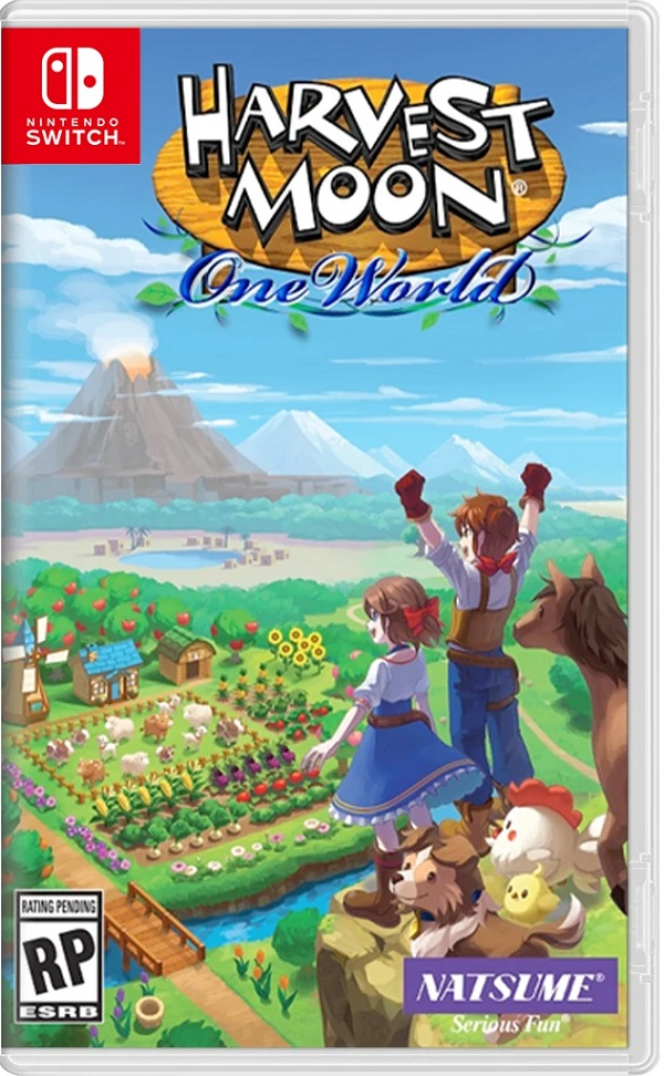 Harvest Moon One World Nintendo Switch Cover