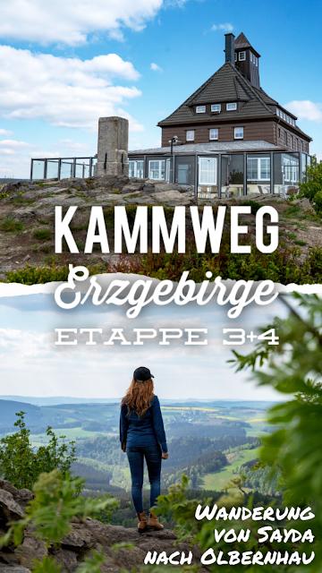 Kammweg Erzgebirge  Etappe 3+4 von Sayda nach Olbernhau  Wandern in Sachsen 30