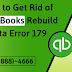 How to Get Rid of QuickBooks Rebuild Data Error 179