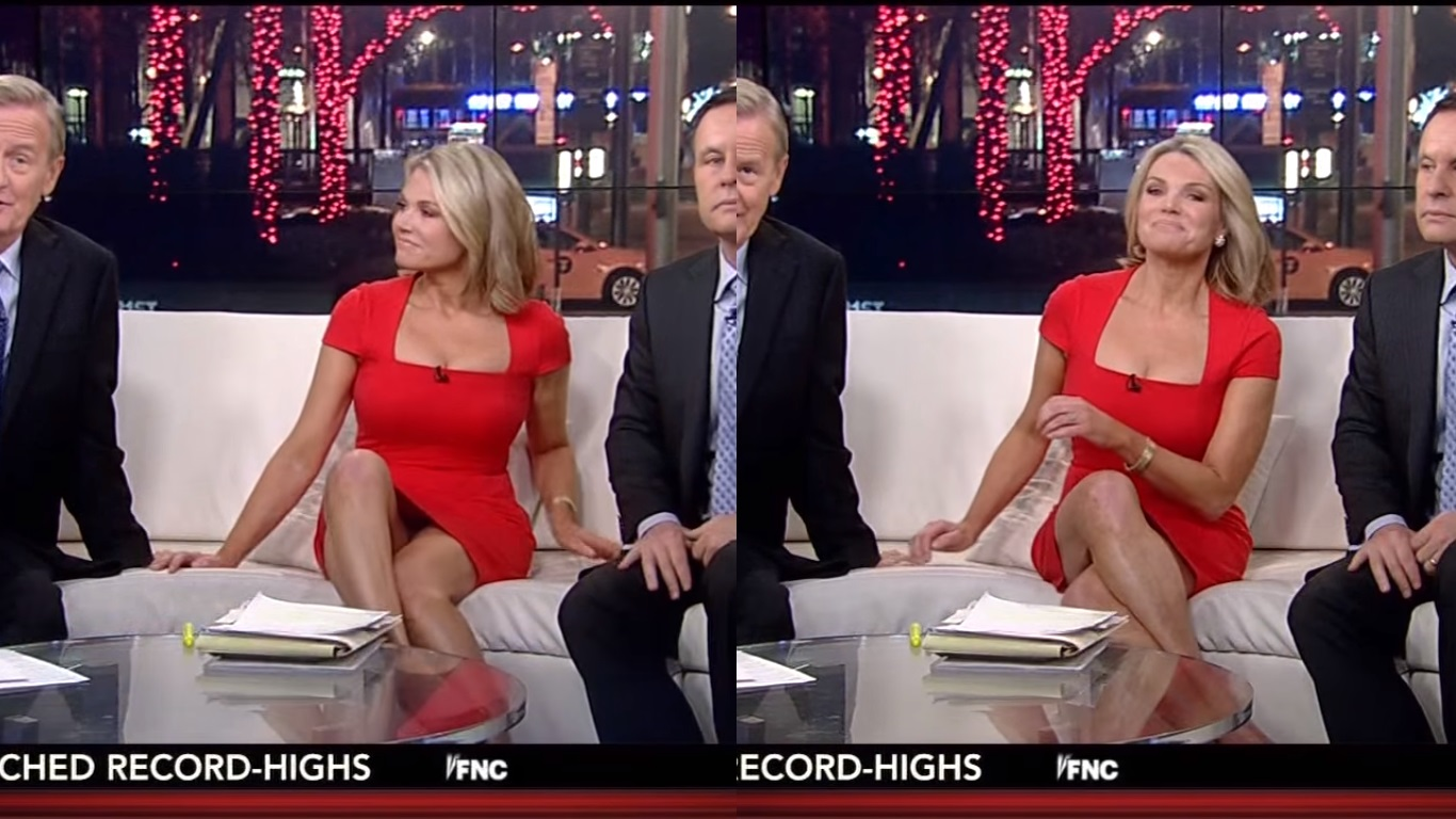 Fox Women TV Anchor Babes' Skirts are Rising: Fox News ...