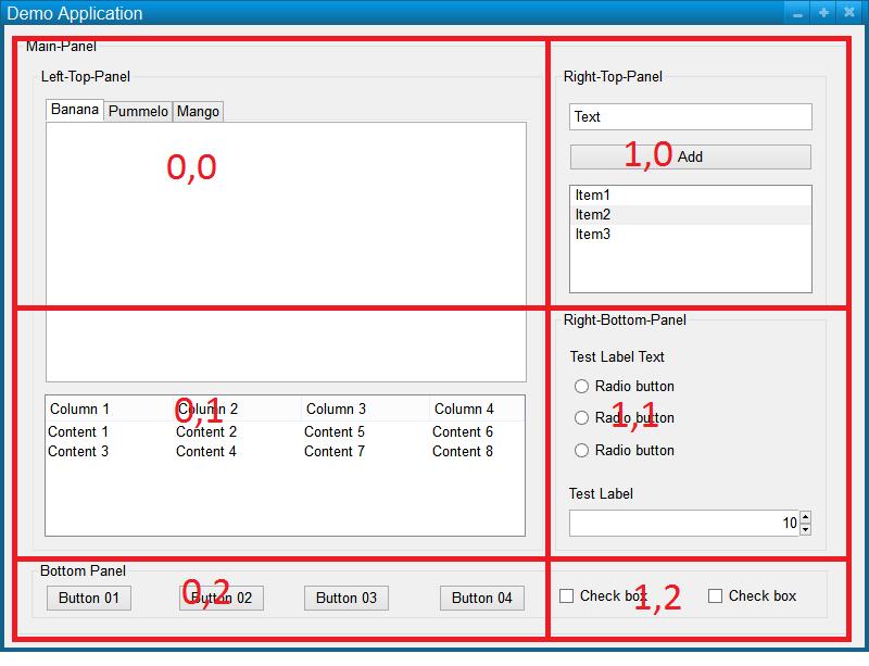 Dummy's Codes: Java Grid Bag Layout Tutorial