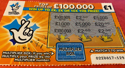 £1 Multiplier Scratchcard