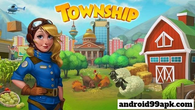 لعبة المزرعة Township v7.2.0 مهكرة كاملة (بحجم 143 MB) للأندرويد