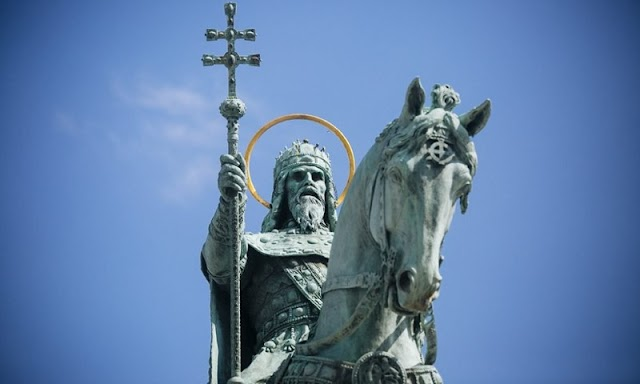 Szent István nem a róla elnevezett parkban kap szobrot, hanem Gajda Péter ténykedését figyelheti a XIX. kerületben
