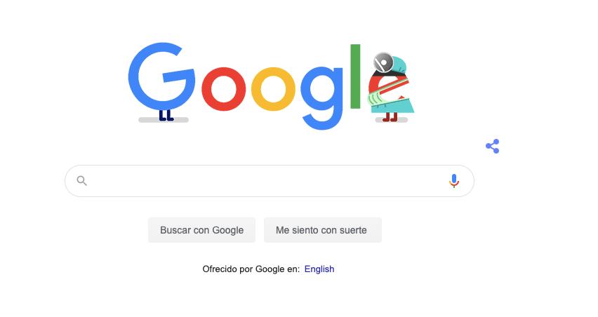 Google comete un grave error al publicar un Doodle