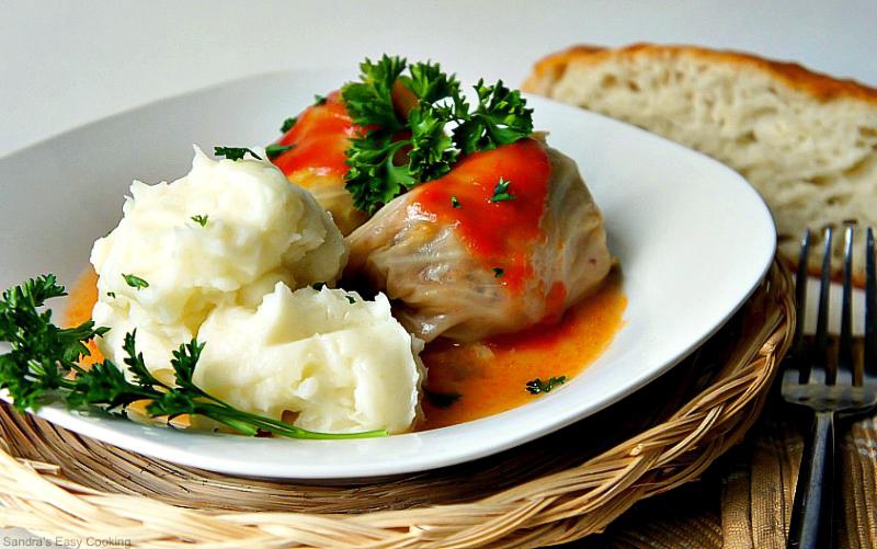 Sour Cabbage Meat Rolls (Sarma) recipe