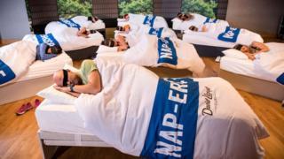 Napercise : dormir la siesta en el gimnasio como ejercicio